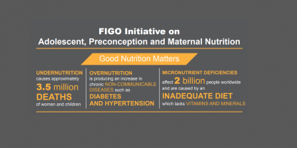 Adolescent, preconception and maternal nutrition (APMN) infographic - English