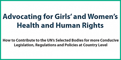 Advocating for GIrls and Women's Health and Human Rights (2018)