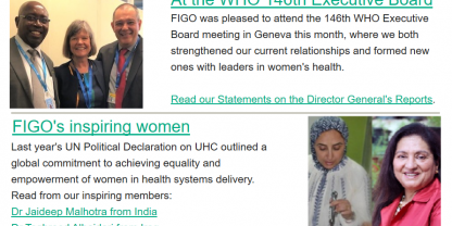 Spotlight - FIGO monthly newsletter