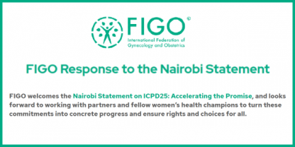 FIGO response to the Nairobi statement