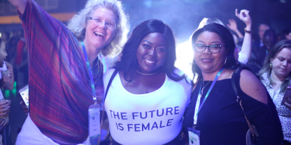 Women at FIGO Rio 2018