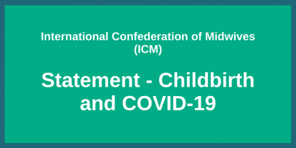 Childbirth and COVID 19