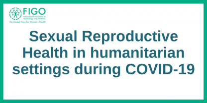 SRHR Humanitarian settings