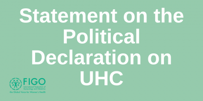 UHC Declaration response WHO 2020