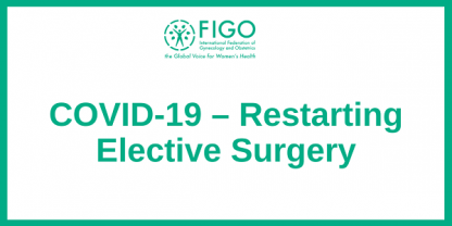 COVID Restarting Elective Surgery