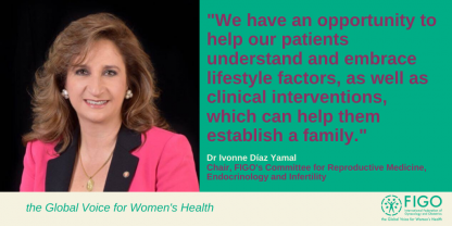 FIGO Committee Chair discusses the link between obesity and fertility