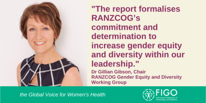 RANZCOG Commitment to gender equality and diversity