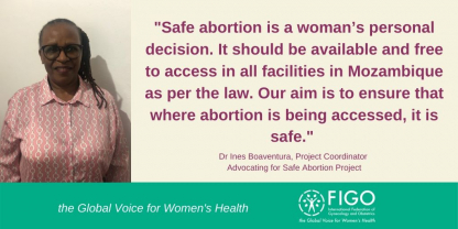 Advocating for safe abortion in mozambique