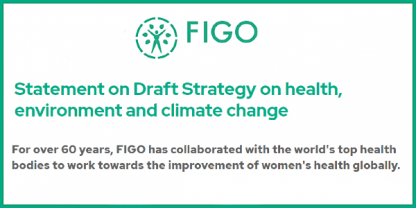 Figo statement on Enviroment and Climate change