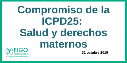 ICPD Spanish - maternal health