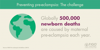 preeclampsia guidelines - newborn deaths