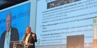 spotlight - Launch of International Childbirth Initiative at FIGO 2018