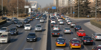 busy roads and high traffic causing asthma