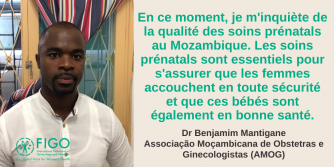 Dr Benjamim Mantigane, French quote, OBYN, Mozambique