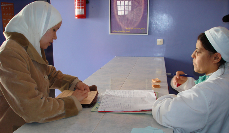 Pictured: Family planning clinic in Rabat