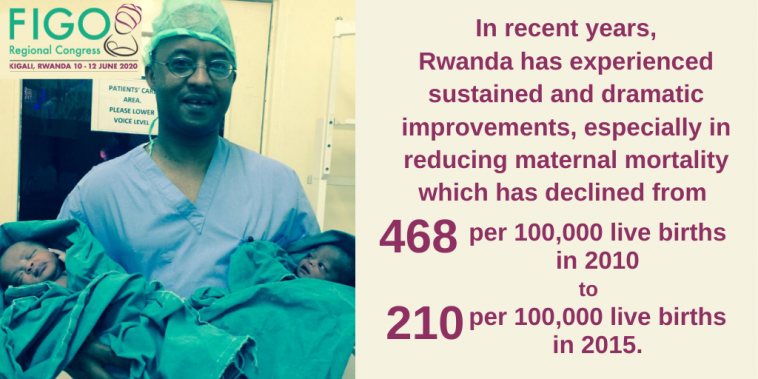 maternal mortality reduces in Rwanda