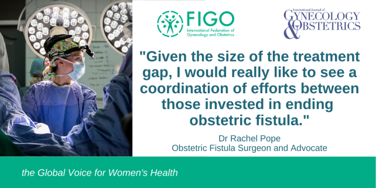 Dr Rachel Pope explains research into ending fistula