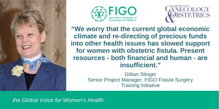 FIGO's Gillian Slinger addresses challenges to ending fistula