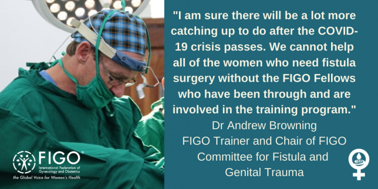 Dr Andrew Browning Fistula Surgeon