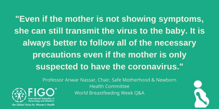 World Breastfeeding Week 2020 Figo